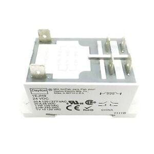 1EJH9 Dayton Relay, Power, DPST-NO, 24VDC Coil