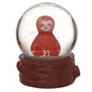 Sloth Snow Globe snow storm water ball