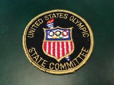 ICOLLECTZONE USA Olympic State Committee Patch (A500)