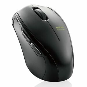 Elecom Bluetooth VR Mouse M-VRF01BK【Japan Domestic Genuine Products】 from Japan