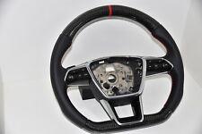 Audi S-Line Sportlenkrad Lenkrad Carbon  A6 4K C8 A7 S7 4KF A4 mit Schaltpaddeln