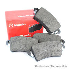 Peugeot 206 1.6 16V Genuine Brembo Front Brake Pads Set
