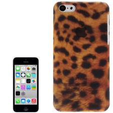 Hardcase Schutzhülle Leopard Style für Apple iPhone 5C in braun Hülle Case Cover