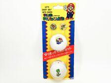 Vintage Super Mario World Golf Balls (2) NIntendo Japan