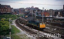 Mxt Lot of 24x  35mm Colour British Rail Railway slide BR Tracks Trains refb5