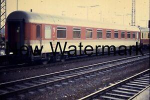 Personenwagen DB, Original Dia