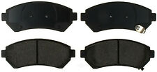 Disc Brake Pad Set-Ceramic Disc Brake Pad Front ACDelco Advantage 14D699CH