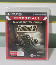 Fallout 3 Game Of The Year Edition *New / Sealed (Sony PlayStation 3) PS3 Game