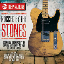 2 CD ROCKED BY THE STONES inc. WATERS HOLLY BERRY DIDDLEY COLE WOLF VAUGHAN ETC