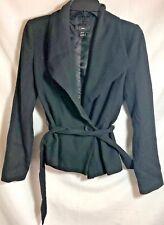 H&M Womens Peacoat Black Blazer Size EU 34 US 4