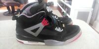 NIKE AIR JORDAN Spiz'ike Black/Cement Grey/Red ~ 315371 062 Size 13 (147)
