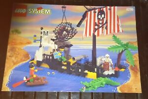 LEGO 6296 pirate instruction manual excellent condition see pictures NO BRICKS