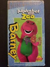Barney - Barney's Alphabet Zoo (Classic Collection VHS, 1999)