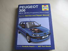 Peugeot 306 Haynes Manual 1993 -1999 (K to T)  Petrol / diesel  ONE OWNER