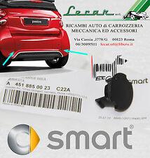 1 TAPPO NERO SPOILER POSTERIORE SMART FORTWO 451 MY12 4/2012 > 10/2014 ORIGINALE