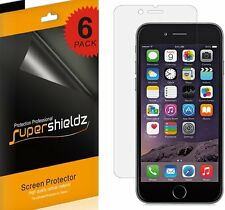 6X Supershieldz HD Clear Screen Protector Shield Saver For Apple iPhone 6 4.7""