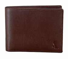 Adamis Genuine Leather Mens Wallet W257 Brown