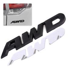Auto AWD Aufkleber Metall Körper Emblem Schwarz AWD Logo SUV Deko Für Honda Jeep