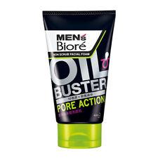 [MEN'S BIORE] Oil Buster Charcoal Acne Action Non Scrub Facial Foam Wash 100g
