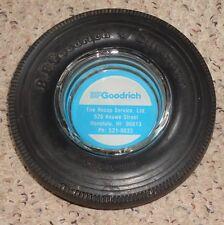 vintage bf goodrich tire ashtray honolulu hawaii hawaiian