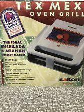 *Rare* Vintage Salton Taco Bell Tex Mex Oven grill 1999 Press Mexican Enchilada