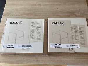 2x IKEA KALLAX Regal Einsatz mit Boden Schrankeinsatz 204.237.20