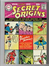 SECRET ORIGINS #1 (1961) - Grade 3.5 - Kirby, Kane, Infantino and more!