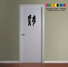 PEGATINA - STICKER - VINILO - VINYL - AUFKLEBER - WC-  Bathroom - Toilette -Baño