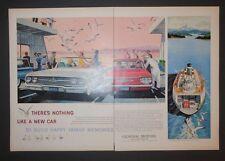 Original Magazine Ad 1960 CHEVROLET IMPALA Convertible Print Vintage Art
