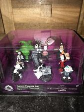BNIB Disney Store Nightmare Before Christmas Deluxe Figure Playset Figurine Set