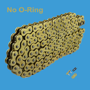 Chain 530 x 120 Gold Color without O-ring Fit:Harley-Davidson Sportster Dyna