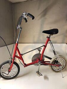 Rare Vintage Japanese Bridgestone Picnica Folding Bicycle Bike City Nice