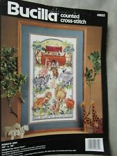 Bucilla Counted Cross-Stitch -PATTERN ONLY - NOAH'S ARK