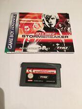 Alex RIDER STORMBREAKER ROMPE TORMENTAS GBA/juego Boy Advance. Usado.
