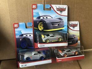 DISNEY CARS DIECAST - Trainee Bundle - Aiden, Jae & Ernesto - See Description