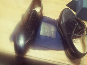 PEAL & CO BROOKS BROTHERS OXFORD SHOES 7 e ENGLAND MADE UNUSED 11 X 3 875 $700