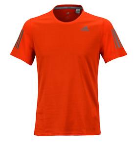 Adidas Men Response T-Shirts Training S/S Jersey Orange Tee Top Shirt BP7427