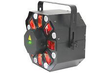 QTX Hadron 3 en 1 luz estroboscópica Laser Proyector Efecto de Luz LED Iluminación DJ DISCOTECA DMX