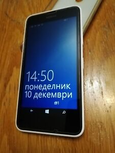 Nokia Lumia 630 Dual SIM- 8GB – White,Unlocked Smartphone,Windows 8.1 Used.