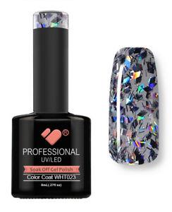 WHT-023 VB™ Line Rhomboid Dark Diamond - UV/LED soak off gel nail polish