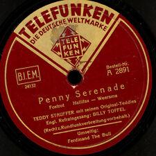 ORIGINAL TEDDIES TEDDY STAUFFER Penny Serenade/Ferdinand the Bull s7008