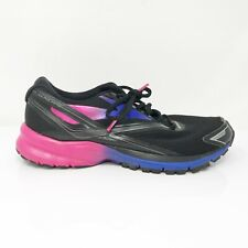 Brooks Womens Launch 4 1202341B066 Black Running Shoes Lace Up Low Top Size 9 B