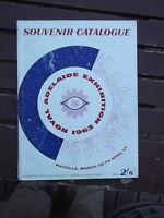 ROYAL ADELAIDE EXHIBITION 1963 WAYVILLE SOUVENIR CATALOGUE 144 PAGES
