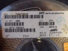 (50 PER LOT) CAPACITOR TANTALUM 4.7uF 16V B-CASE SMD 3528-21
