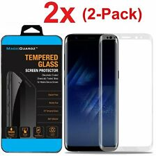 Samsung Galaxy S9 S8 Plus Note 8 9 Full Cover 4D Tempered Glass Screen Protector