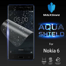 Nokia 6 Screen Protector,Genuine MaxShield HD Aqua Crystal for Nokia
