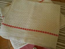 6 torchons/serviettes  lin/coton 54x67cm parfait état