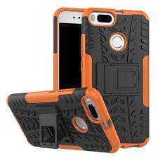 NEUF Etui Hybride 2 Pièces Extérieur Orange pour Xiaomi Mi 5X MI A1
