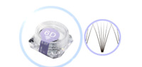 Pre made Russian WINK 6D 0.07 Premade Volume Lash 80 Fans Eyelash Extensions Pot