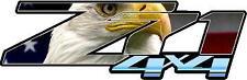 Z71 4 x 4 Eagle and Flag Vinyl Sticker Decal Cars Trucks Vans Walls Laptop